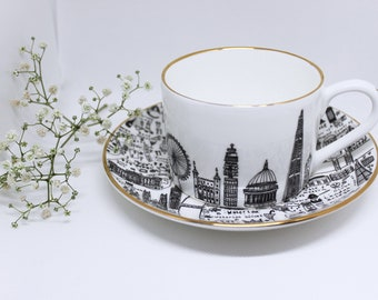 Special Edition London teacup set | Luxury| Gift | British
