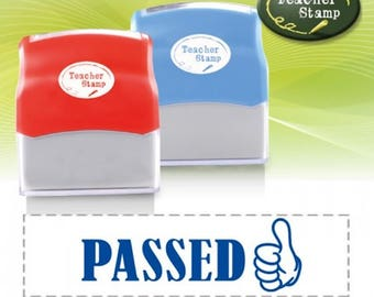 Self-Inking Teacher Stamp - Passed - DS015
