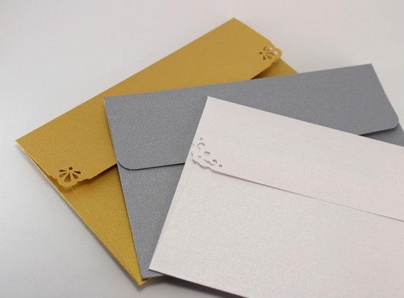 25 shimmer envelopes a7 envelopes for 5x7 wedding etsy image 0 m4hsunfo