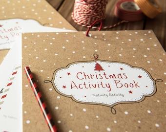 Kids Christmas Activity Book