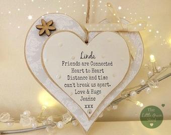 Friends Gift~Distance Apart~Personalised Plaque~Keepsake
