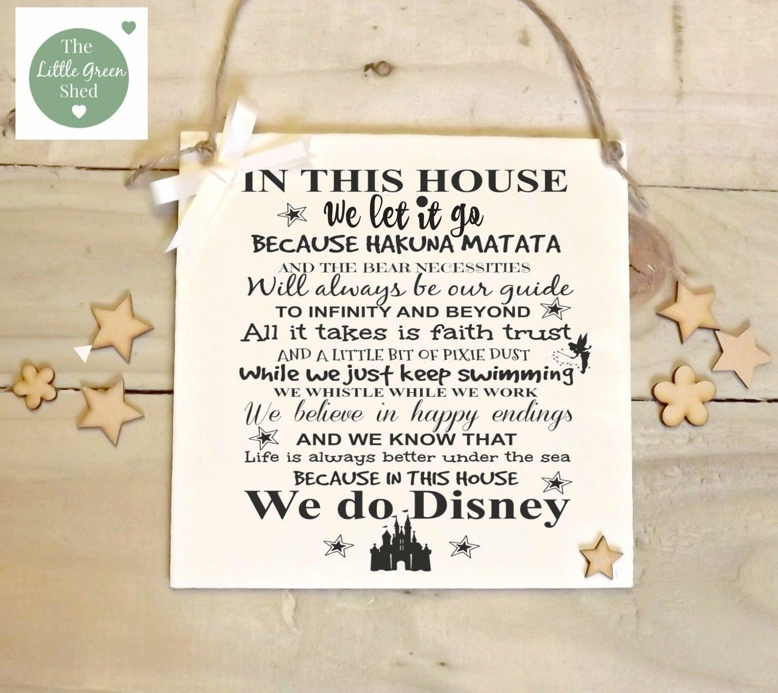 Disney Quote Plaques: Disney Quotes Plaque Nursery Birthday Sign In This House