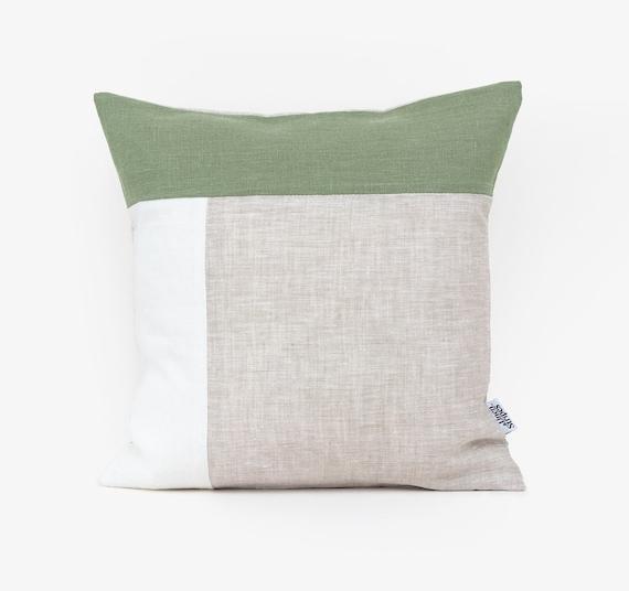 Eco friendly Linen Pillow Covers 20x20