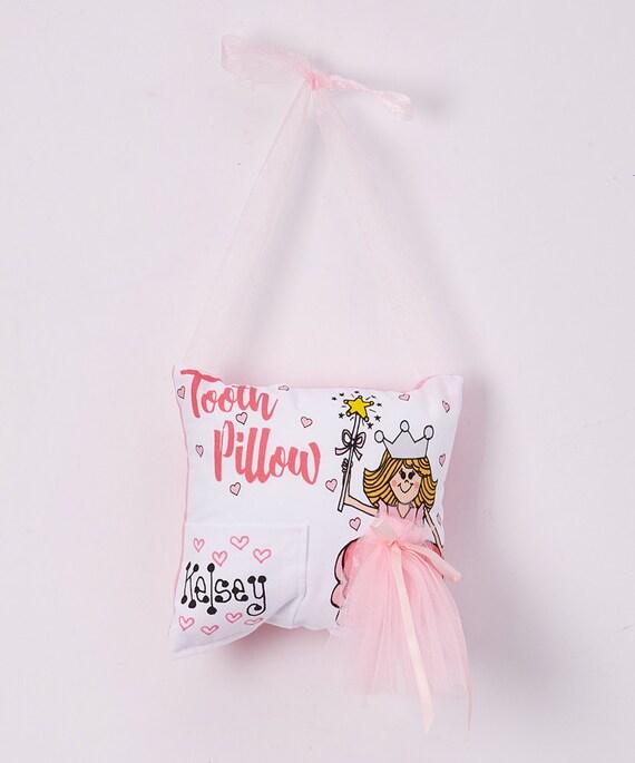 CLEARANCE***Ballerina Tooth Fairy Pillow Hanger***Ready to Ship