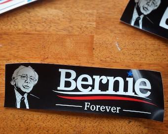 Bernie 2020 Bumper Stickers (3 options) - Political Feel The Bern Sanders Automobile Outdoor Sticker Hillary Clinton Trump 2016 Car Campaign