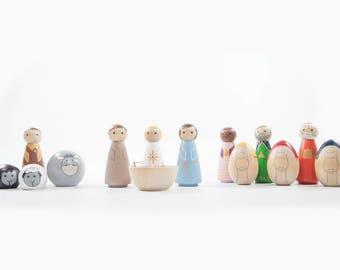 Full 14 Piece Nativity