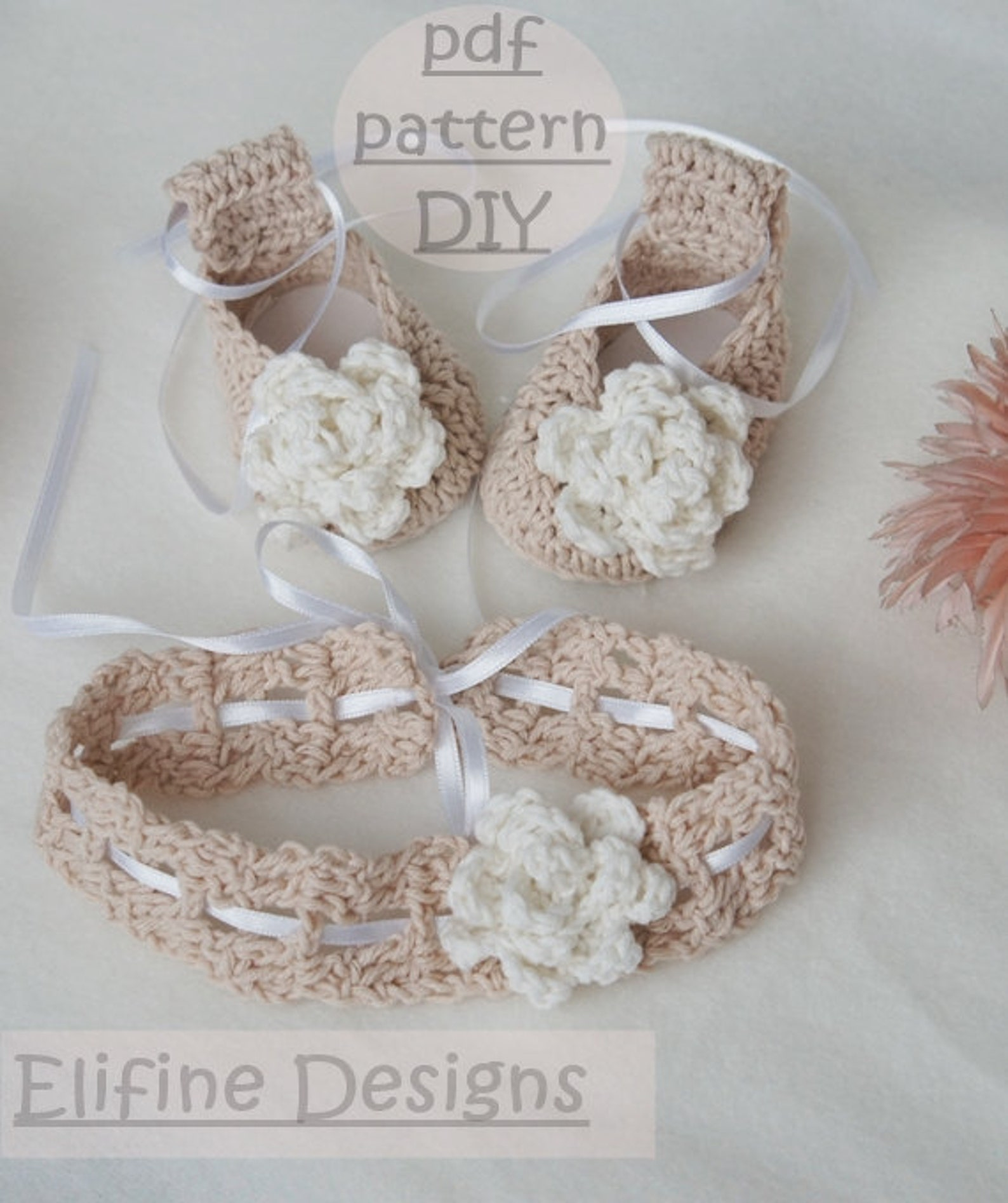 crochet pattern,crochet ballet shoes,crochet headband,crochet booties,baby shower,diy,baby,patterns,crochet for babies,crochet s