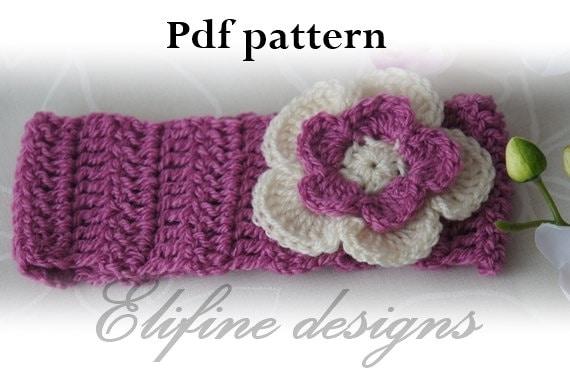 Crochet Headbandbaby Headbandcrochet Baby Headbandcrochet Etsy Simple Baby Headband Crochet Pattern