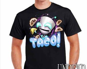 Invader Zim Robot Gir Taco - Mens T Shirt
