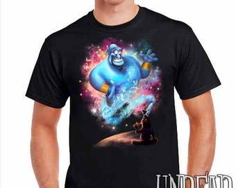 Aladdin Genie Magic Lamp - Mens T Shirt