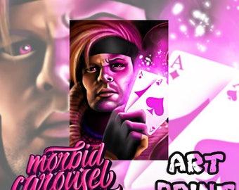 Gambit - Marvel X-Men Large A1 Poster Art Print Giclee