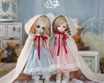 Nigo-bjd-clothes ={ Matcha Milk }= & ={ Strawberry Milk }= for Yosd