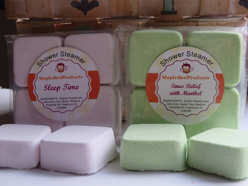 03611b3fc83 Shower Steamers Sinus Relief Aromatherapy Shower Bomb
