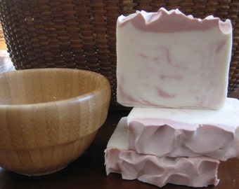 Jasmine Soap, All Natural Soap, Handmade Soap, Hand Soap, Cold Process Soap, Homemade Soap, Artisan Soap, New Hampshire, Gifts For Her