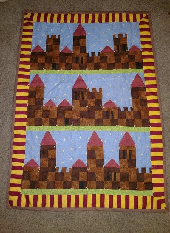 Harry Potter Castle Quilt