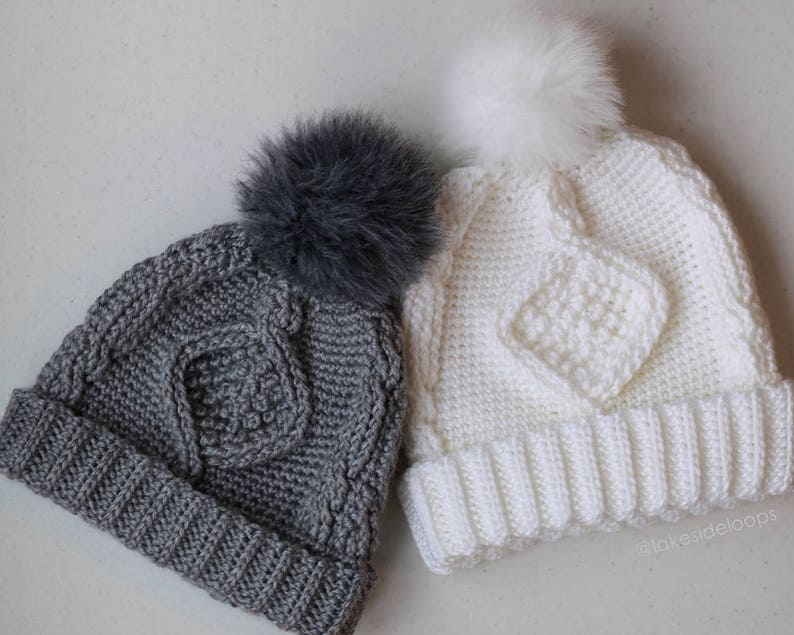 d9bb864d3a7 Crochet Pattern Deserai Diamond Crochet Cable Hat by