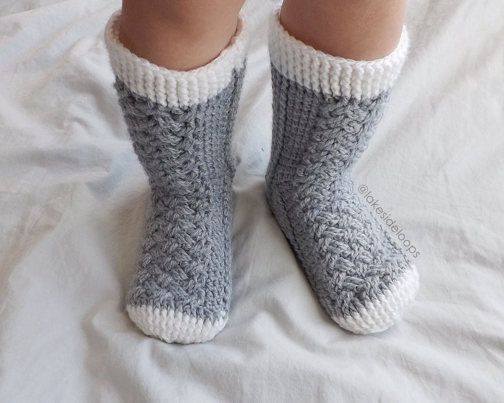 Crochet Pattern Parker Cable Socks By Lakeside Loops Etsy