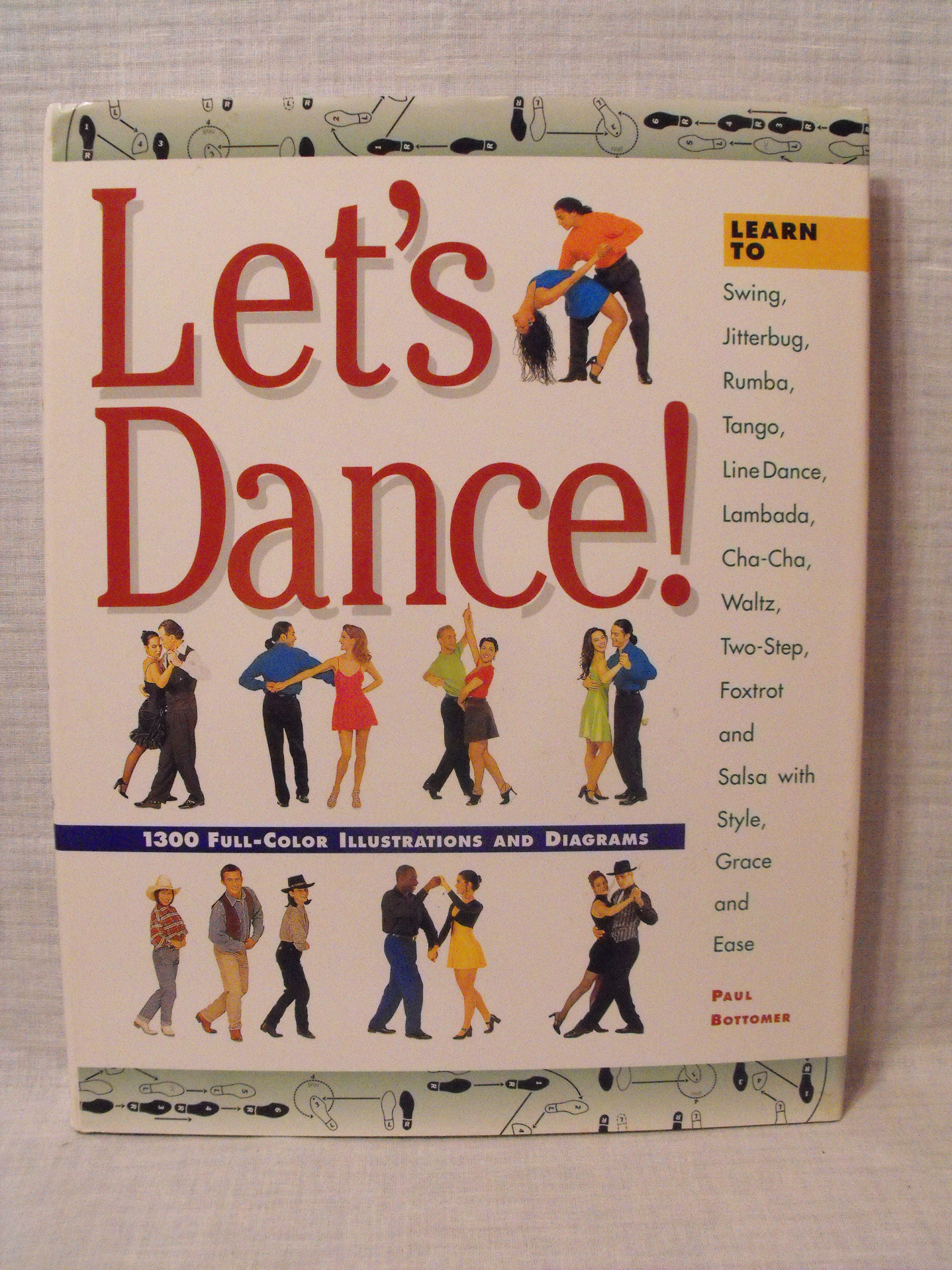 Lets Dance By Paul Bottomer Like A Professional Etsy Step Diagrams Zoom