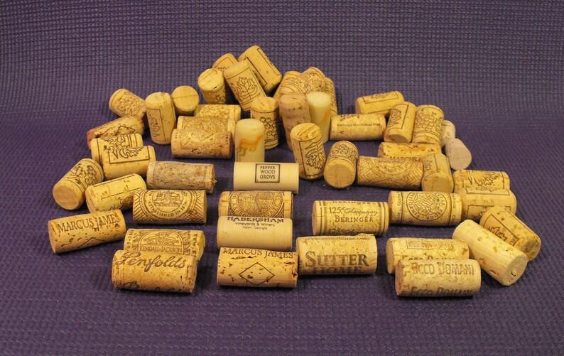 Habersham Vineyards /& Winery Ecco Domani Penfolds Coaster Ridge Beringer Lot 52 Wine and Bottle Corks Crafts Sutter Home