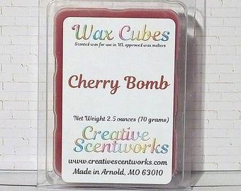 Cherry Bomb Scented Wax Melt Cubes