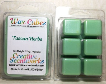 Earthy/Herbal Wax Melts