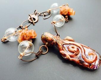 Octopus Dreams Necklace
