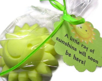 20 Sunshine soap favors baby shower favors birthday party favors wedding bridal shower favors sun soap summer birthday favor bath and beauty