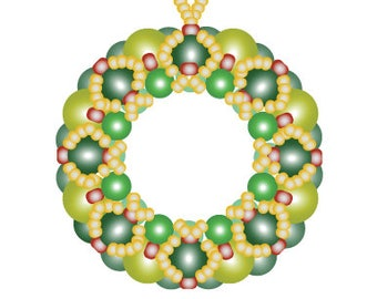 Filled Pearl Wreath