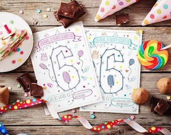 Child's Birthday invitation