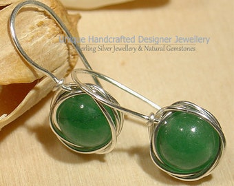 Natural Pearl Silver Earrings /& Pendant Set 925 Handmade Jewellery 0121-2