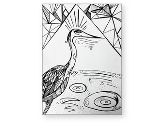 Blank greeting cards set of 10