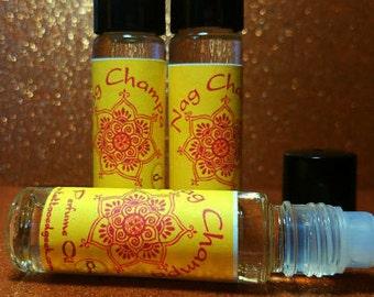 Nag Champa Perfume Oil Vegan Perfume Fragrance Oil Roller