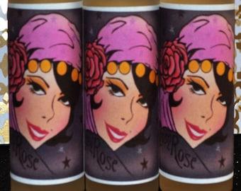 "Sandalwood Rose Perfume ""Gypsy Rose"" Fragrance Oil Roller Vegan Perfume Oil"