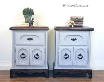 Farmhouse Style Nightstands