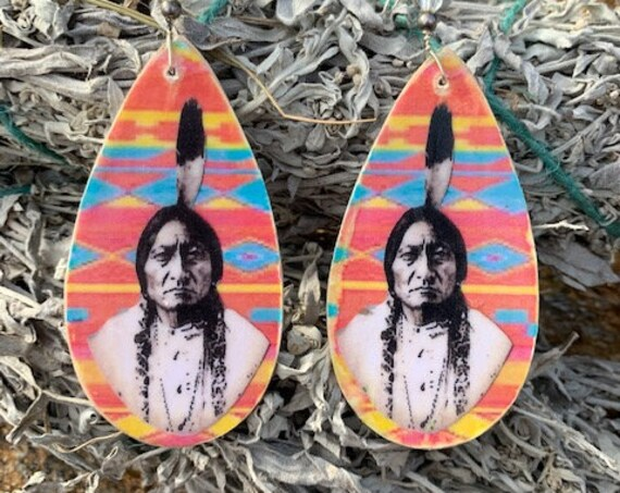 Sitting Bull Honor Earrings