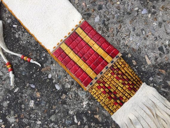 Porcupine Quill Medicine Bag