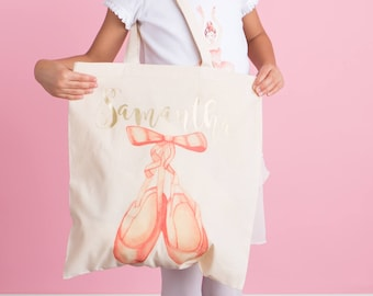 ba9446dec9a Ballet Bag - Ballerina Tote Bag - Dance Recital Gift - Dance Bag - Ballet  Dancer - Personalized Ballet Bag -Personalized Dance Bag - Ballet