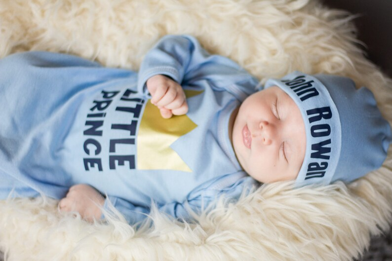 92e17bb66c33 Newborn Boy Coming Home Outfit Baby Boy Outfit Personalized