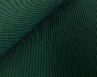 Organic cuffs, 2x1 rib, Mind the Maker, bottle green