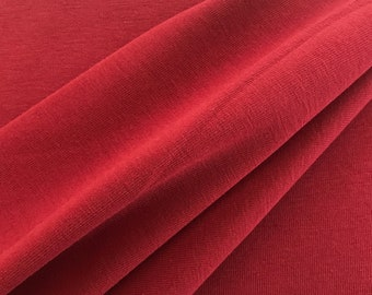 Organic Jersey, red, mind the Maker, extra width