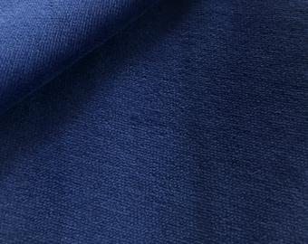 Organic Nicki dark blue, blue print, C. Pauli, GOTS