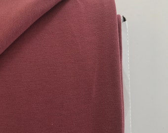 Organic Jersey, Rosewood, rosewood, mind the Maker, Extra width