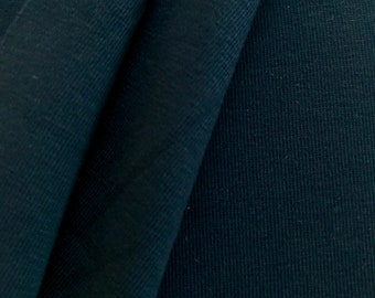 Organic Jersey, dark blue, indigo night, mind the Maker, extra width
