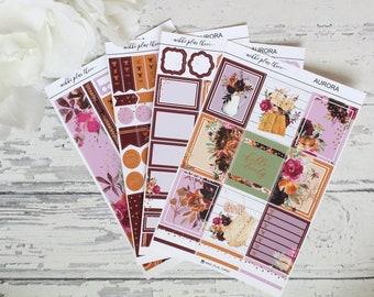 Weekly Kit - Aurora - Rose Gold Foil - Full Kit
