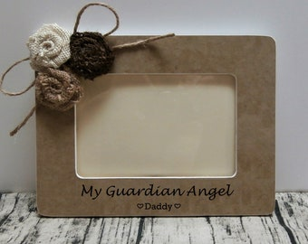 Guardian Angel Frame Etsy