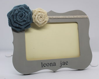 Personalized baby shower gift girl, baby gifts for girls personalized frame