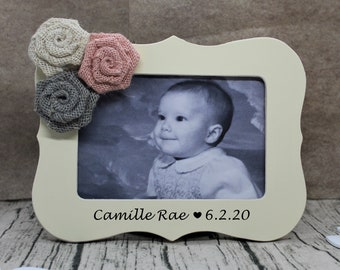 Personalized baby girl gift / new baby gift / Personalized gifts for baby girl frame