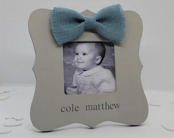 Baby boy gift personalized frame, new baby gifts for boys, baby boy picture frame