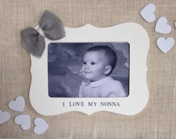 Christmas Gift For Nana Nonna Gifts I Love My Nonna Nonnie Etsy