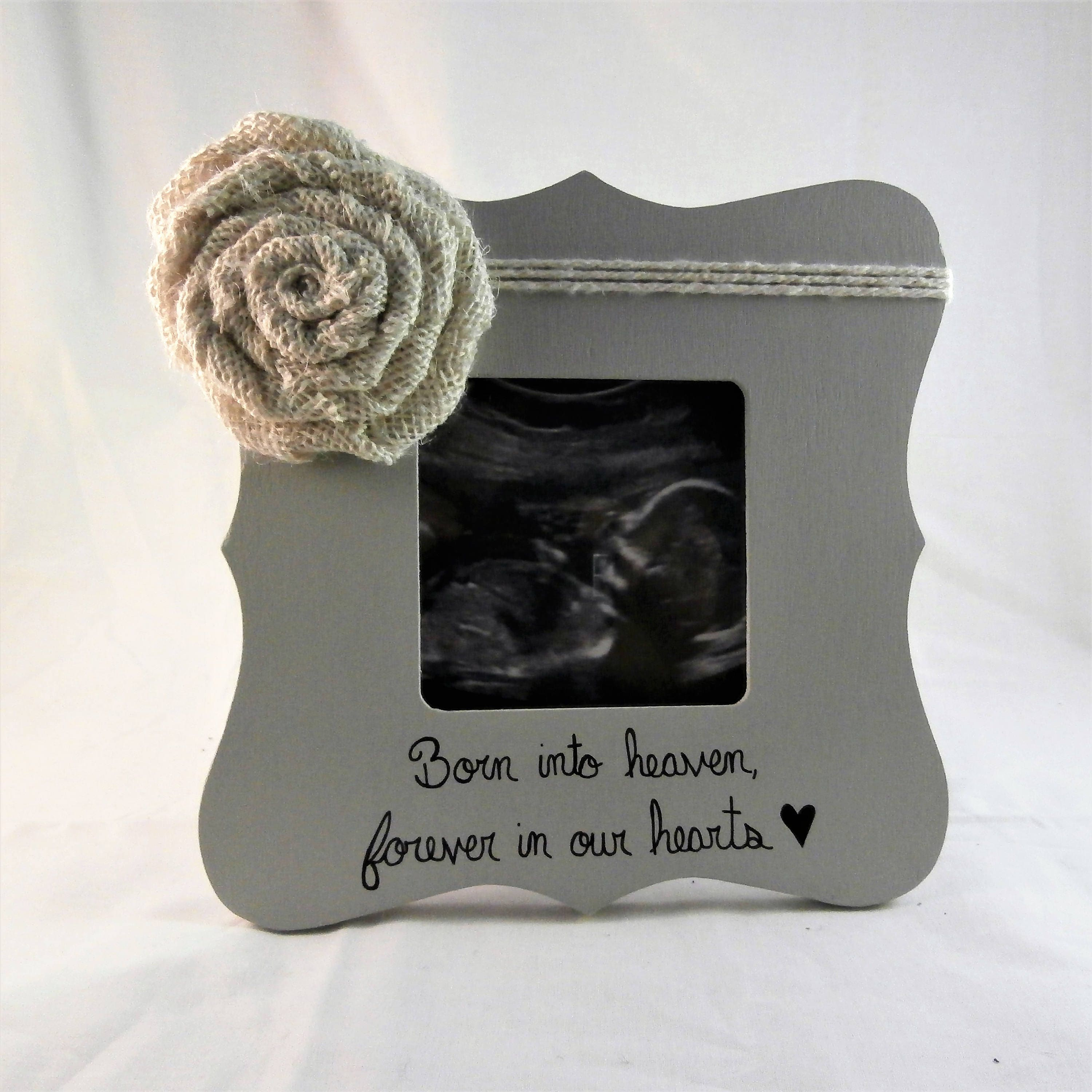Born Into Heaven Forever In Our Hearts Frame Pregnancy Loss Etsy